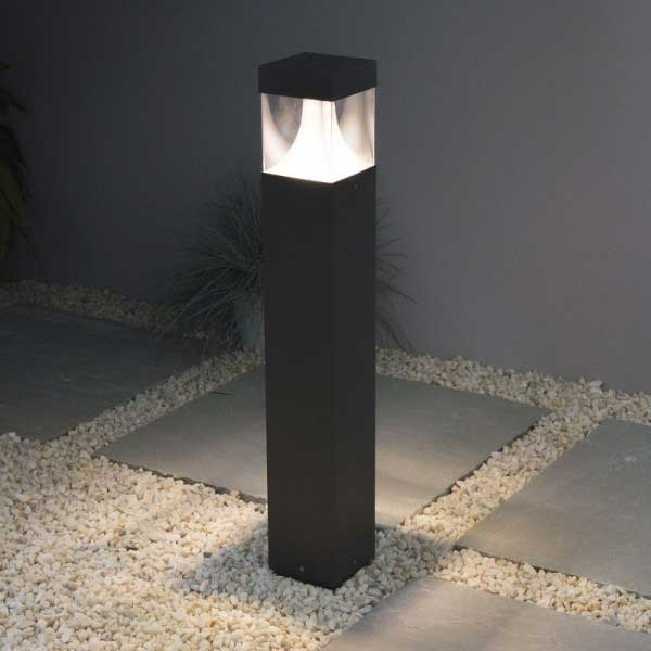 Graphite Cube Light
