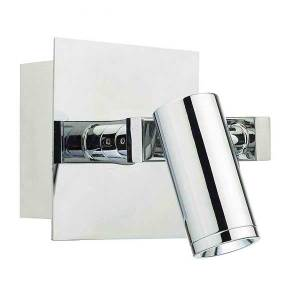 LED Polished Chrome Wall Light