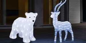3D Polar Bears & Reindeers