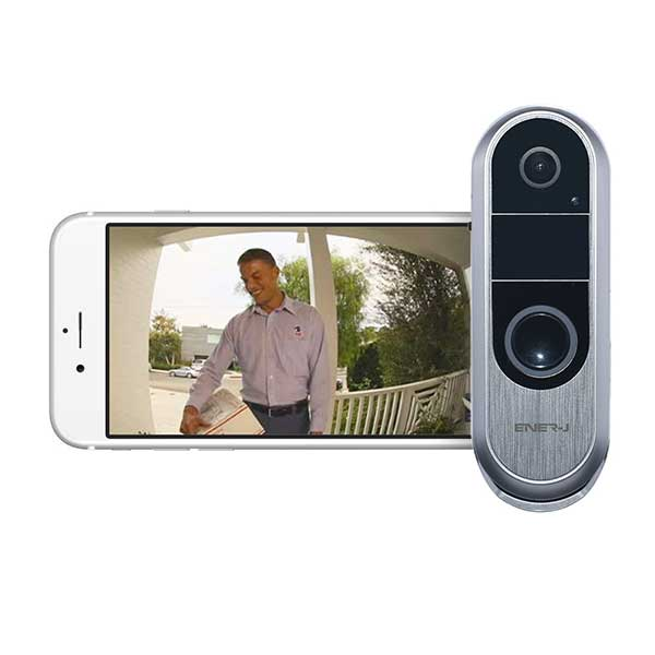 Premium Slim Doorbell, 2 way audio 2