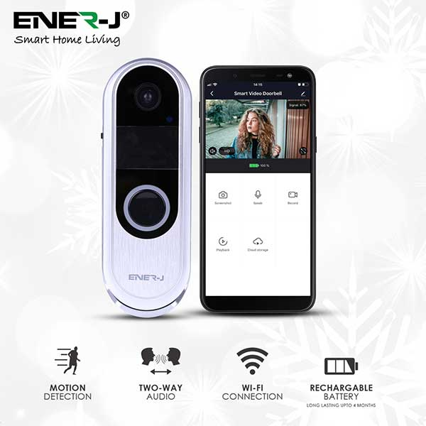 Premium Slim Doorbell, 2 way audio 5