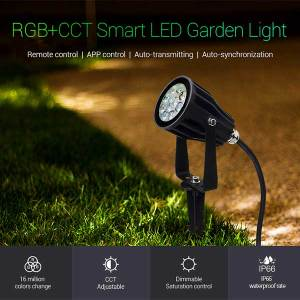 RGB+CCT Smart LED Garden Light 6
