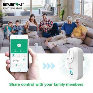 WiFi Smart Plugs with Energy Monitor, 16A UK Plug 5