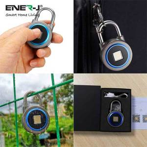 Smart Fingerprint Bluetooth Padlock