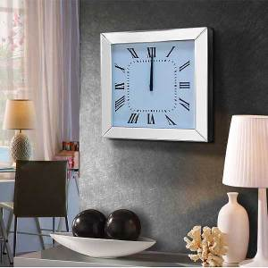 Square Beveled Clock