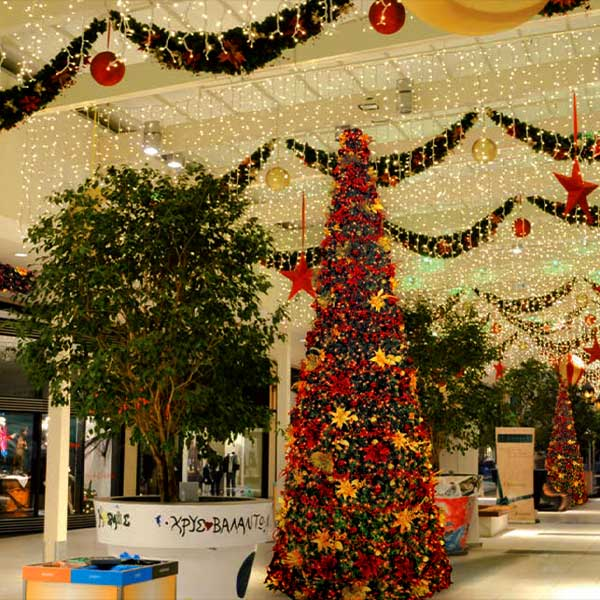 Tree Lighting Shopping Centres