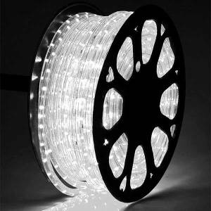 Ice White LED Rope Light 50 Mtr Roll