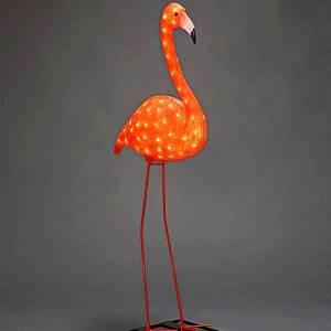 LED Flamingo Figure