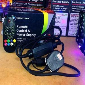 Remote Control & Power Supply