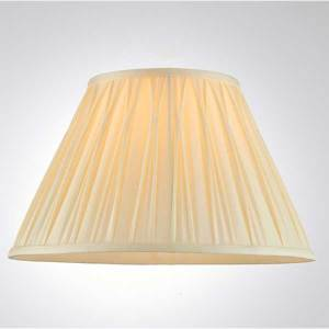 Pinch Pleats Ivory Shade