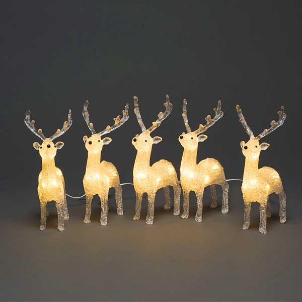 LED Acrylic Reindeer