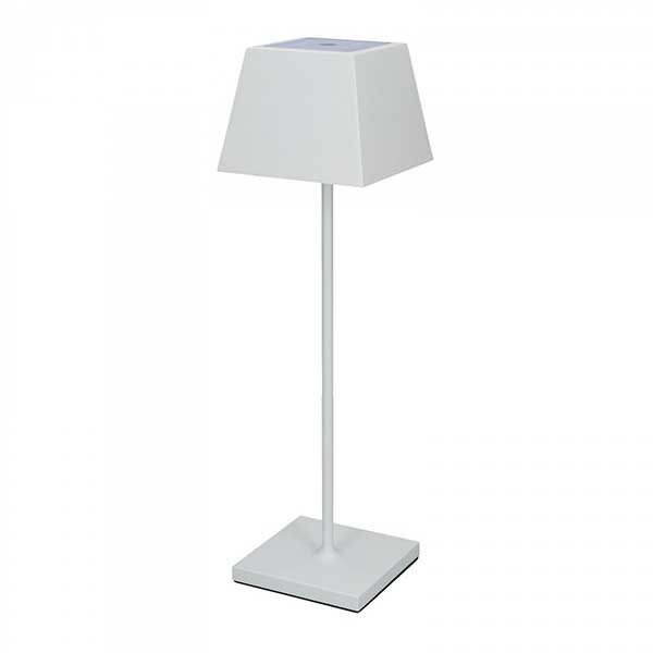 Outdoor Rechargeable Lamp White