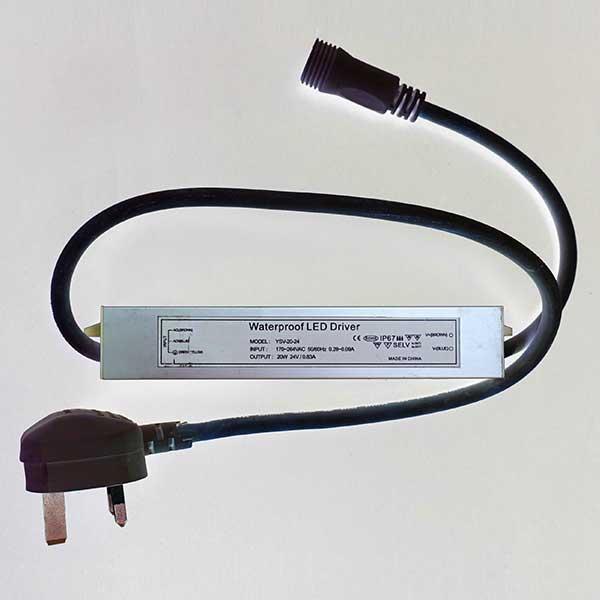 20W Low Volt Transformer | Festoon Lights Ireland | Lighting Shops Dublin