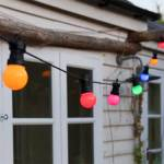 Multicoloured Festoon Lights