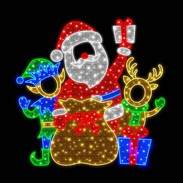 Santa Reindeer Feature