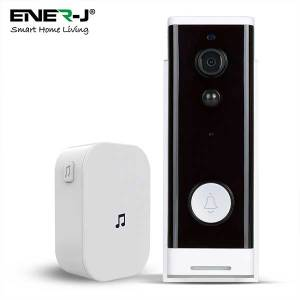 Slim Wireless Video Door Bell 5200mah battery, including UK Chime