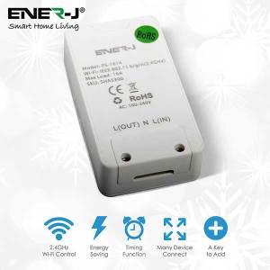 WiFi Inline Switch, Max Load 1600W. On/Off switch