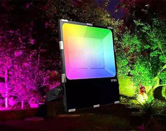 Outdoor Colour Change Lighting Dublin Ireland