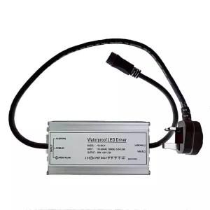 60W LED Waterproof Low Voltage Transformer