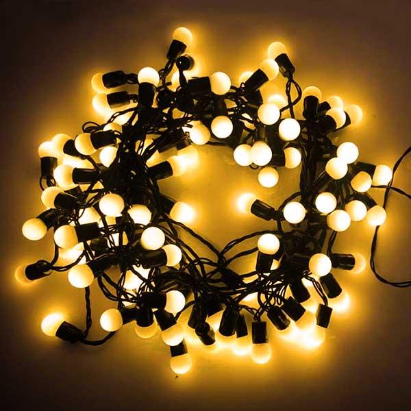 LED Cherry Bulb Battery Lights