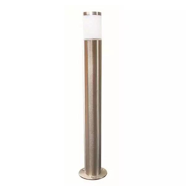 Solid Brass Nickel Plated Bollard Light