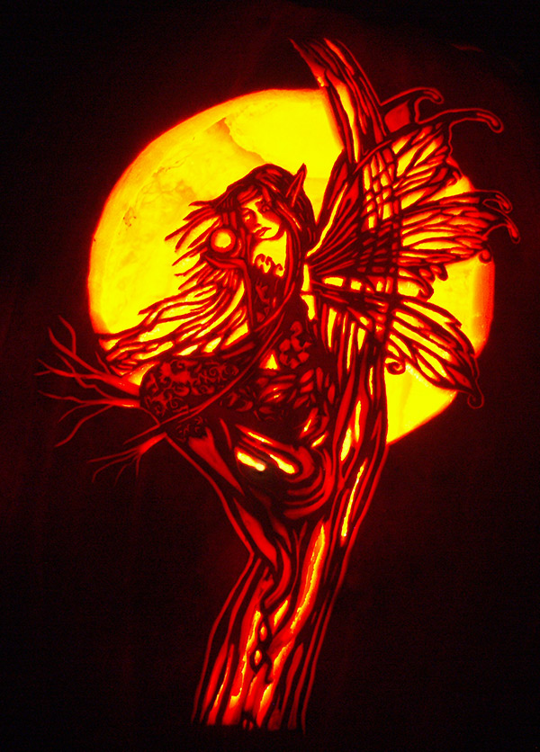 fairy pumpkin carving patterns