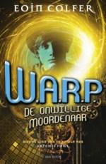 W.A.R.P. 1 : De Onwillige Moordenaar Boek omslag
