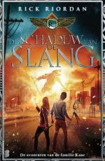 De avonturen van de familie Kane 3: De Schaduw van de Slang Boek omslag