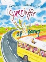 Superjuffie op kamp Boek omslag