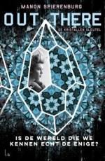 Out There 1: De kristallen sleutel Boek omslag
