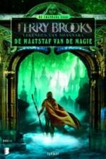 Legendes van Shannara 2: De maatstaf van de magie Boek omslag