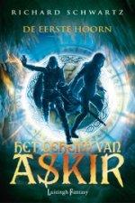 Het Geheim van Askir 1: De Eerste Hoorn Boek omslag