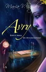 De Heelmeesteres 1: Avry Boek omslag