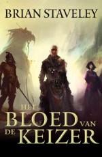 De kronieken van de ongehouwen troon 1: Het bloed van de keizer Boek omslag