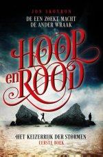 Het Keizerrijk der Stormen 1: Hoop en Rood Boek omslag
