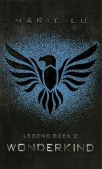 Legend 2: Wonderkind Boek omslag