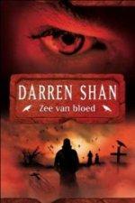 De saga van Larten Crepsley 2: Zee van Bloed Boek omslag