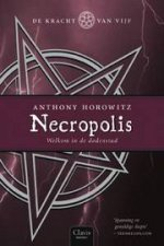 De Kracht van Vijf 4: Necropolis Boek omslag
