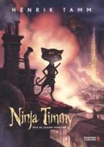 Ninja Timmy en de gestolen lach Boek omslag