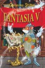 Fantasia V Boek omslag