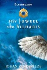 Elfenblauw 1: Het juweel van Silnaris Boek omslag