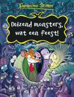 Duizend monsters, wat een feest! Boek omslag