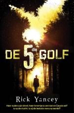 De 5de golf Boek omslag