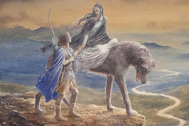 Ongekend Beren & Lúthien – J.R.R. Tolkien & Christopher Tolkien | FantasyWereld GD-92
