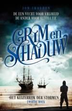Het Keizerrijk der Stormen 2: Grim en Schaduw Boek omslag