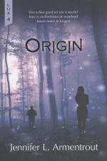 Lux 4: Origin Boek omslag