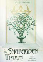 De smaragden troon Boek omslag