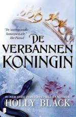 De Verbannen Koningin Boek omslag