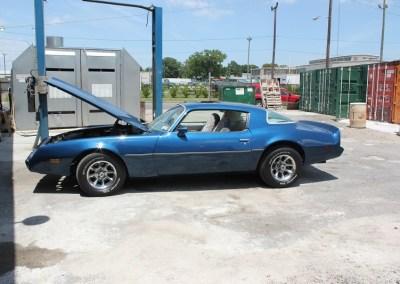 1980 Pontiac Firebird (Blue)