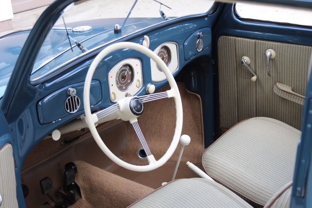 1952 Beetle Interior